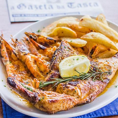 Galinha E Camarão / Chicken & Prawn